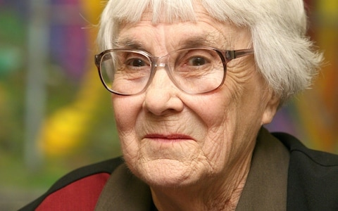 Harper Lee in her later years