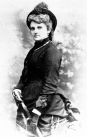Kate Chopin as a young woman