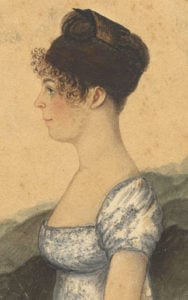 Susanna Rowson, author of Charlotte Temple