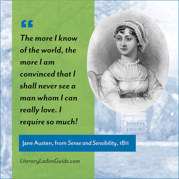 Quote from Sense and Sensibility