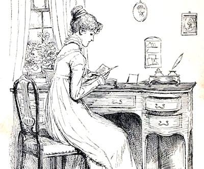 Elizabeth Bennet - Pride and Prejudice illustration
