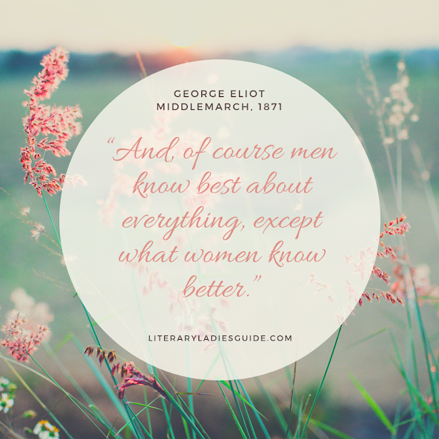 Quote from Middlemarch by George Eliot