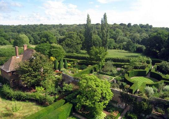 Formal Gardens at Sissinghurst Castle