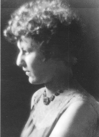 Tillie Lerner (later Olsen), late 1920s