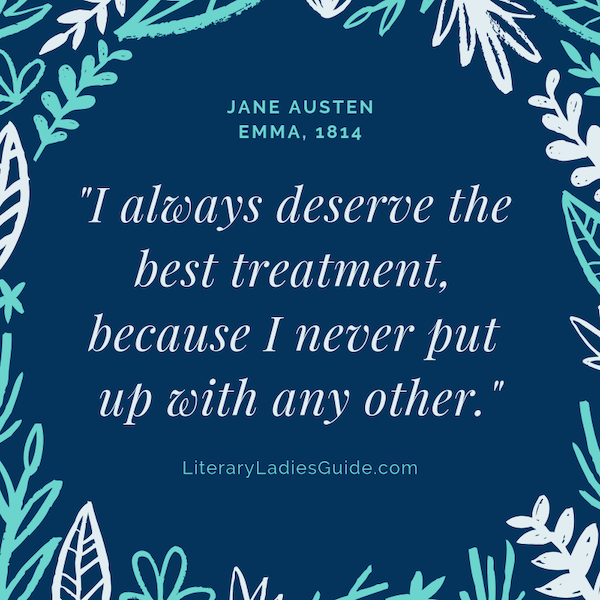 Quote from Emma by Jane Austen