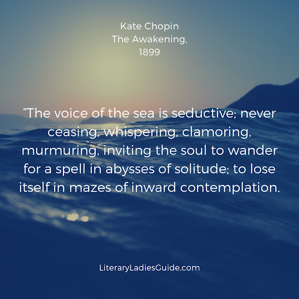 Quote from the Awakening by Kate Chopin