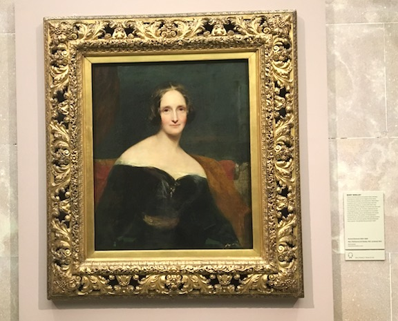 Mary Shelley portrait by Richard Rothwell, 1831