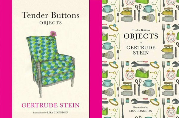 Tender Buttons by Gertrude Stein - illustrations by Lisa Congdon