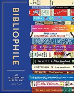Bibliophile - an illustrated miscellany by Jane Mount