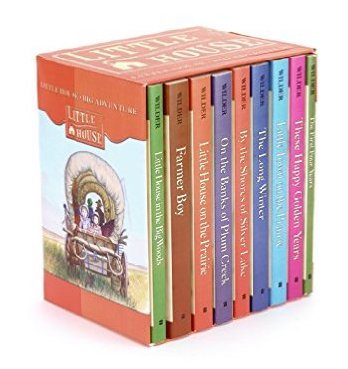 Little House boxed set by Laura Ingalls Wilder