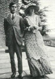 leonard and virginia woolf - 1912