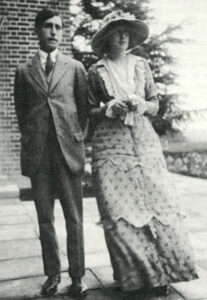 leonard and virginia woolf - 1912