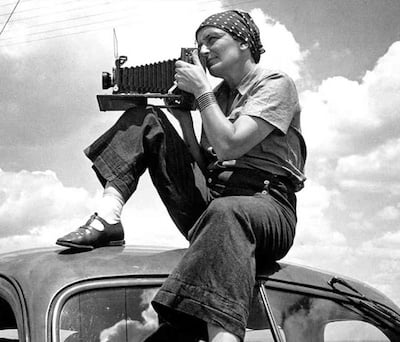 Dorothea Lange in the 1930s