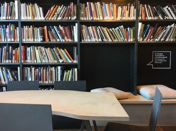 Hafnarhús Art museum library