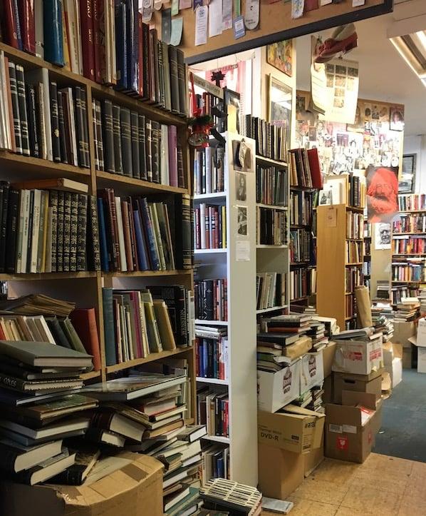 Bódin bookstore in Reykjavik