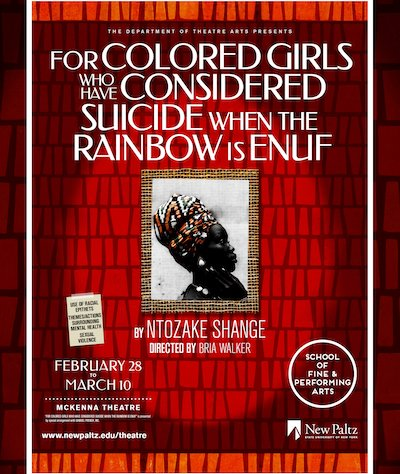 For colored girls - SUNY New Paltz 2019
