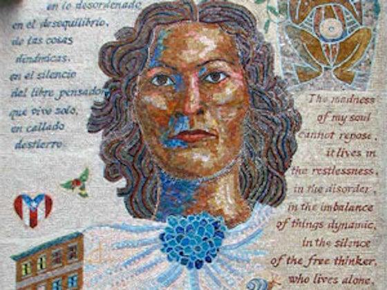 Julia de Burgos mosiac