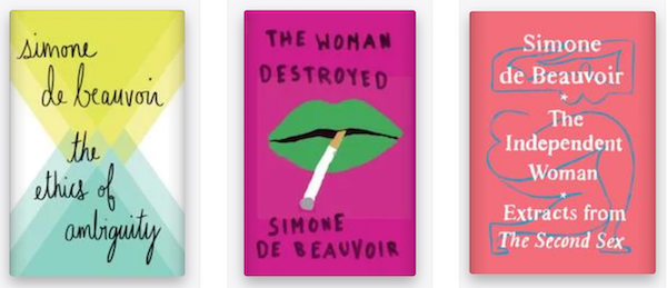 Simone de Beauvoir books