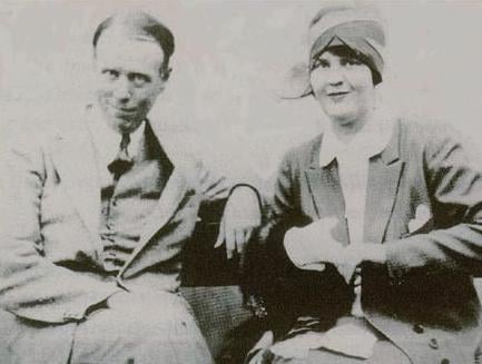 Sinclair Lewis and Dorothy Thompson in 1928