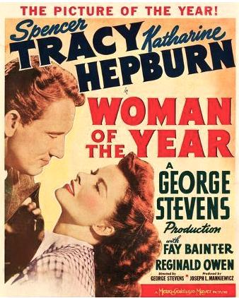Woman of the year 1942 poster