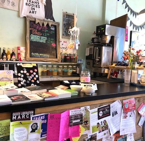 Bluestockings bookstore café