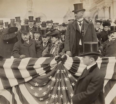 Jessie Tarbox Beals photo of Teddy Roosevelt
