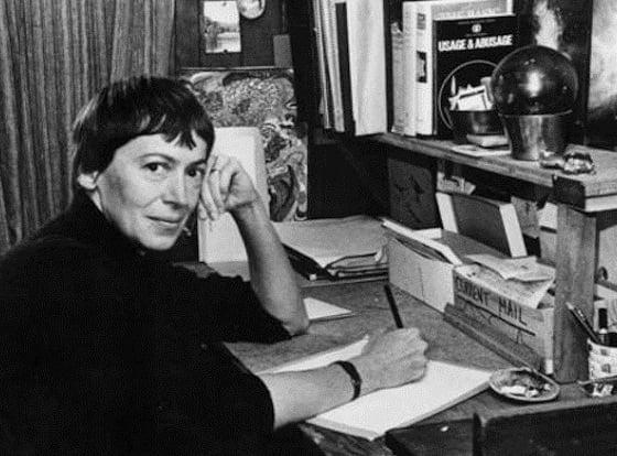 Ursula K. LeGuin in 1973