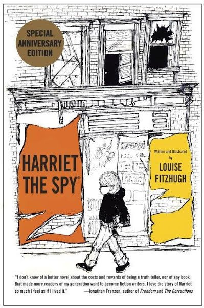 Harriet the Spy by Louise Fitzhugh 50th anniversary edition