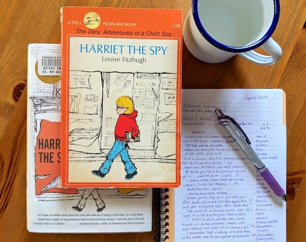 Harriet the Spy by Louise Fitzhugh and Notebook
