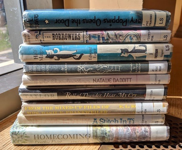 Playing Town Playing Library Stack of Nine