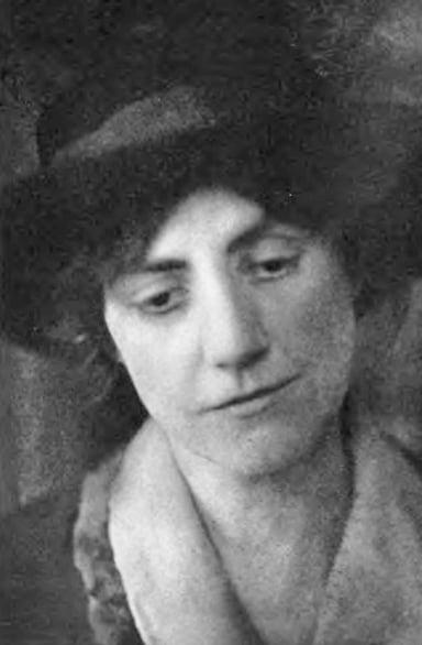 Susan Glaspell, around 1918