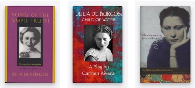 Julia de Burgos books