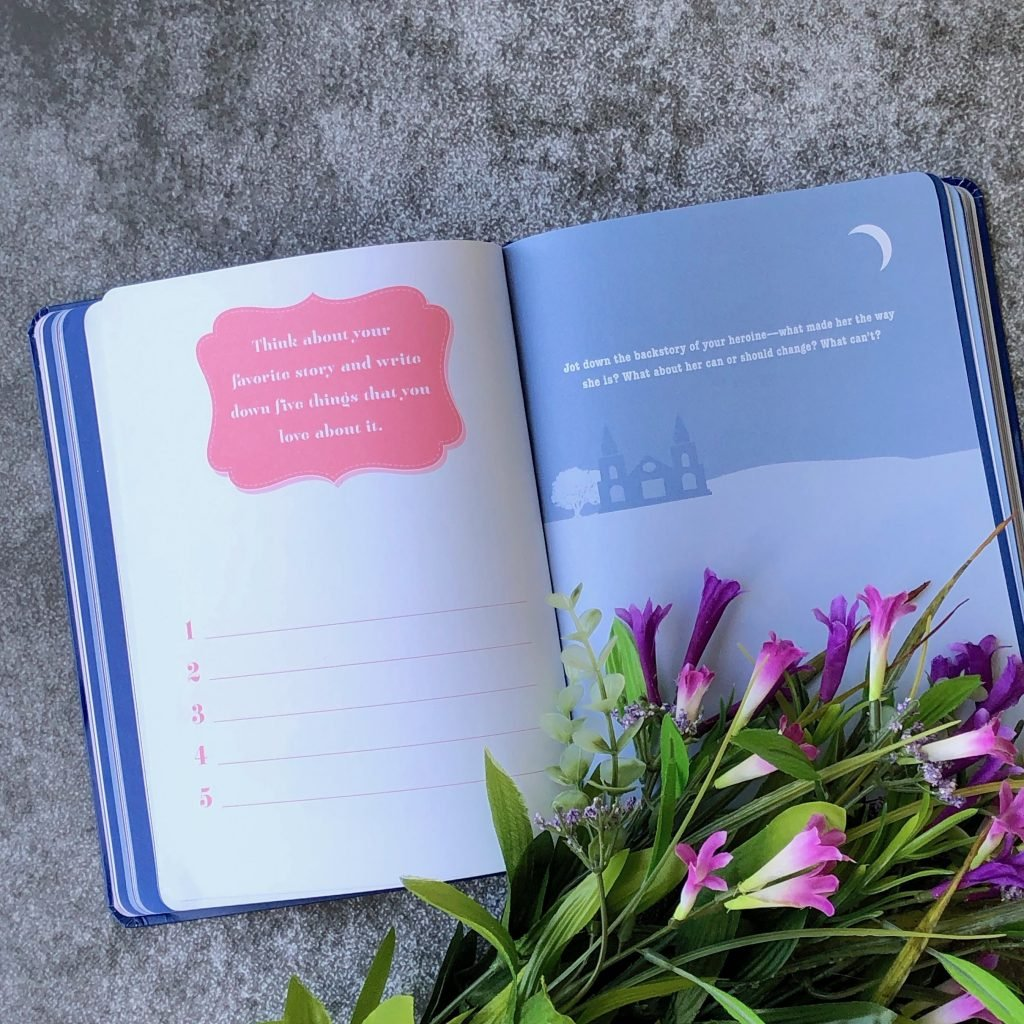 How to write a romance - a guided journal by the editors of Avon Books