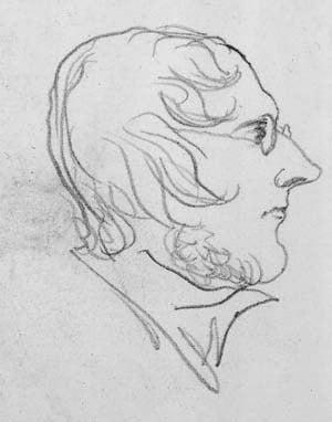 Branwell Bronte self-portrait