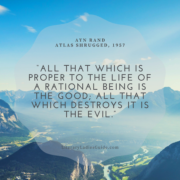 quote from Atlas Shrugged by Ayn Rand