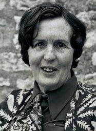 Barbara Pym, British author