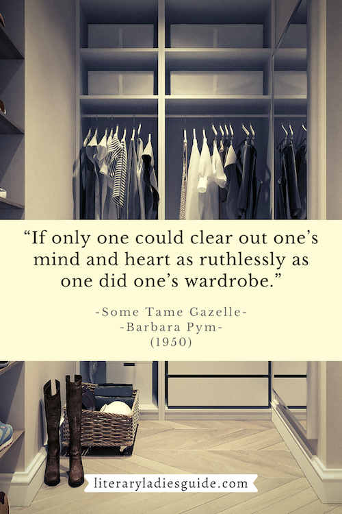 Quote from some tame gazelle by barbara pym