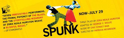 "Zora Neale Hurston's ""Spunk"" performed onstage"