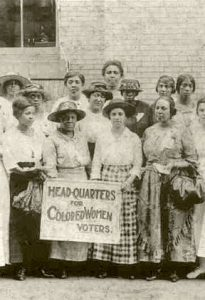 African American women suffragists