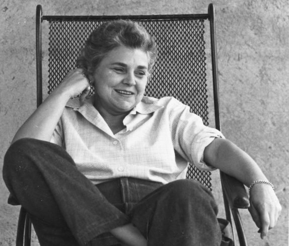 Elizabeth Bishop in her later years