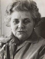 Elizabeth Bishop older