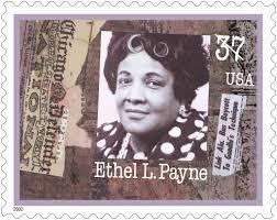 Ethel Payne postage stamp