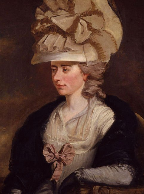 Frances d'Arblay (Fanny Burney) by Edward Francisco Burney