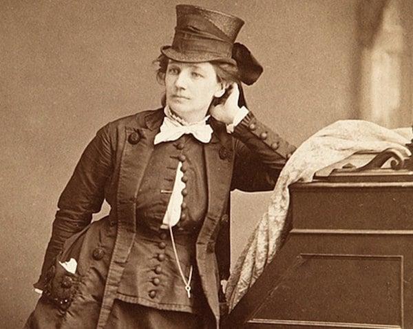 Victoria Woodhull, lady stockbroker