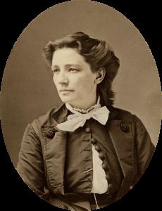 Victoria Woodhull, photo by Mathew Brady, ca 1870