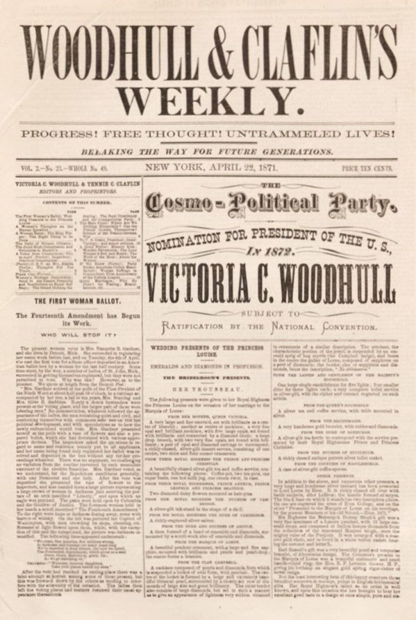 Woodhull & Claflin's weekly