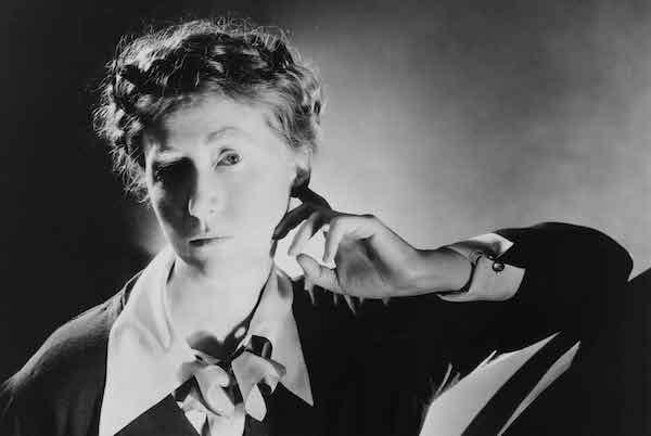 Poet Marianne Moore in 1935