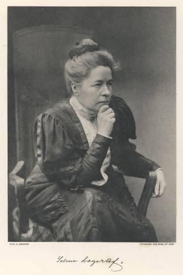 Selma Lagerlof, Swedish Nobel Prize winner