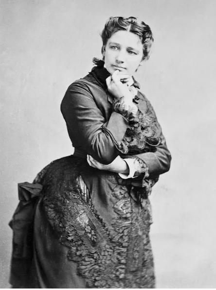 Victoria Claflin Woodhull, 1872