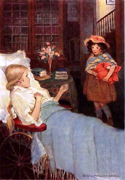 Heidi and Clara - Jessie Willcox Smith